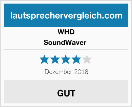 WHD SoundWaver  Test