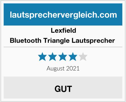 Lexfield Bluetooth Triangle Lautsprecher  Test