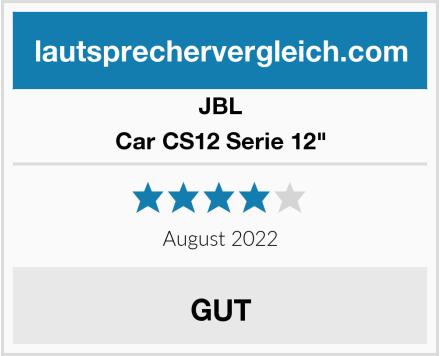 "JBL Car CS12 Serie 12"" Test"