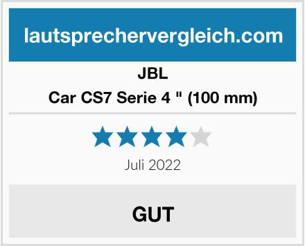 "JBL Car CS7 Serie 4 "" (100 mm) Test"