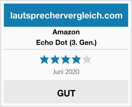 Amazon Echo Dot (3. Gen.) Test