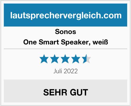 Sonos One Smart Speaker, weiß Test