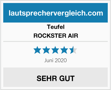 Teufel ROCKSTER AIR Test