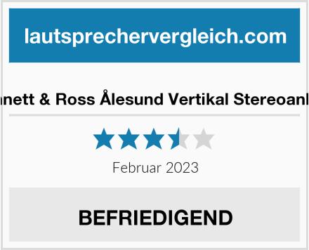 Bennett & Ross Ålesund Vertikal Stereoanlage Test