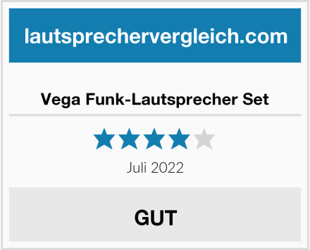 No Name Vega Funk-Lautsprecher Set Test