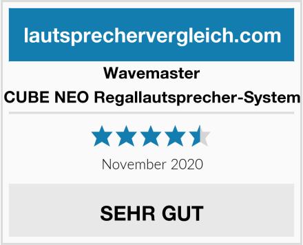 Wavemaster CUBE NEO Regallautsprecher-System Test