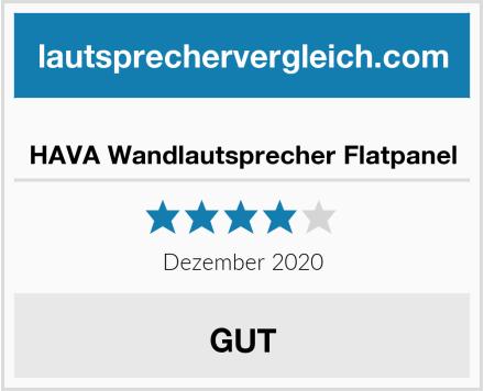 HAVA Wandlautsprecher Flatpanel Test