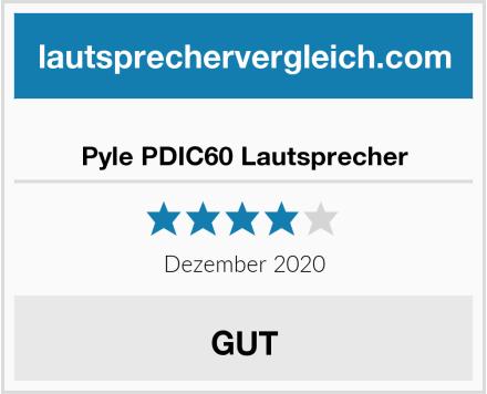 Pyle PDIC60 Lautsprecher Test