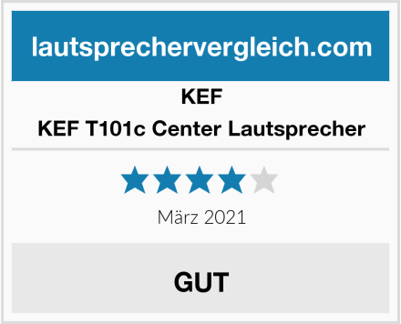 KEF KEF T101c Center Lautsprecher Test