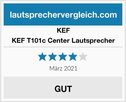 KEF KEF T101c Center Lautsprecher Test