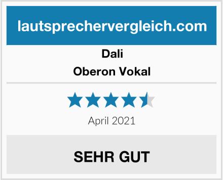 DALI Oberon Vokal Test