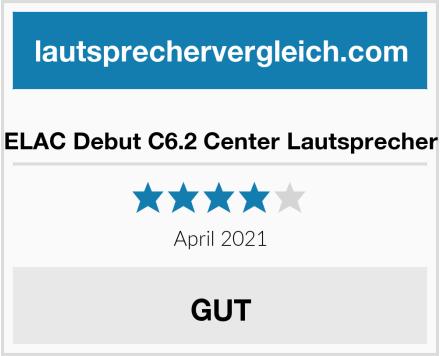 ELAC Debut C6.2 Center Lautsprecher Test