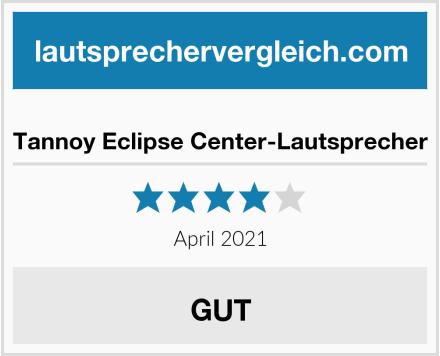 Tannoy Eclipse Center-Lautsprecher Test