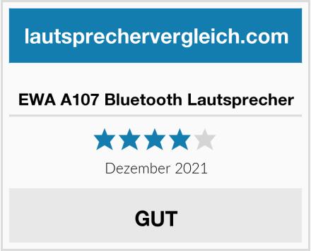 EWA A107 Bluetooth Lautsprecher Test