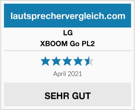 LG XBOOM Go PL2 Test
