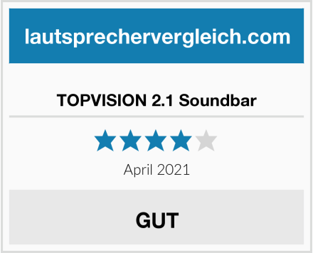 TOPVISION 2.1 Soundbar Test