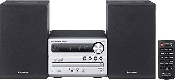 Panasonic SC-PM250EG-S Micro- mit HiFi-System