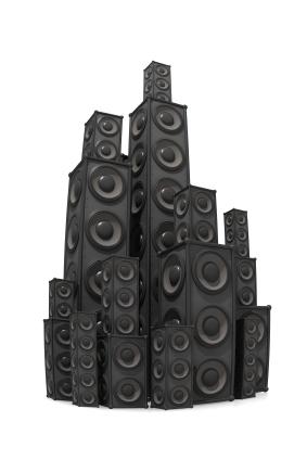 verschiedene Lautsprecher-Größen